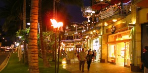 Waikiki Beach Walk At Night Vacation Ideas And Honeymoon Hotels For S The Hottest Things To Do