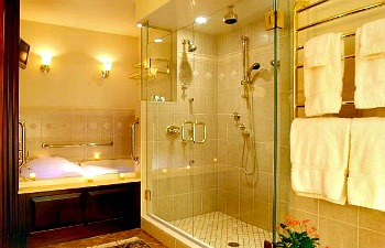 hotel showers for two excellent romantic vacations. Black Bedroom Furniture Sets. Home Design Ideas