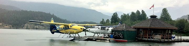 Whistler Float Plane Dock
