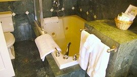 Whirlpool Suite at Abigail's Hotel in Victoria, BC