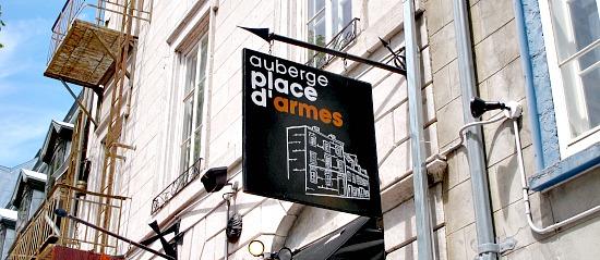 Auberge Place d'Armes, Quebec, QB