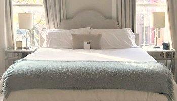 Romantic Brooklyn NY Hotel Room