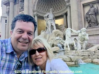 Trevi Fountain, Caesars Palace, Las Vegas