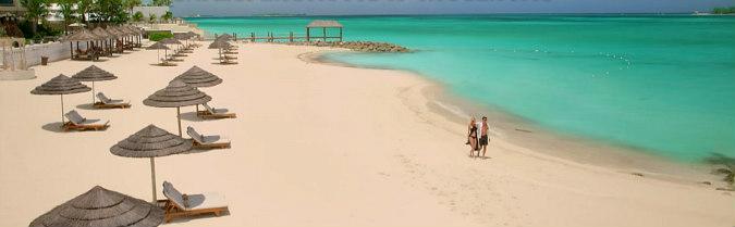 Anniversary Couple on a Caribbean Beach