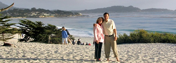 Our Anniversary in Carmel, California