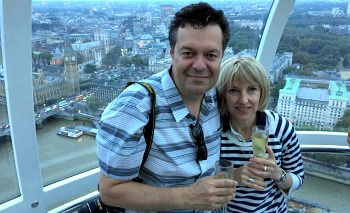 Romantic London Eye