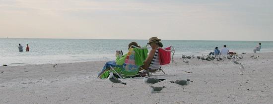 Couple on the Beach near Sarasota, FL