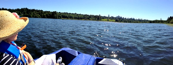Out on the Water at Deer Lake Park, Burnaby, BC