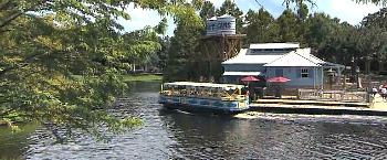 Port Orleans Resort Boat to Disney Main St