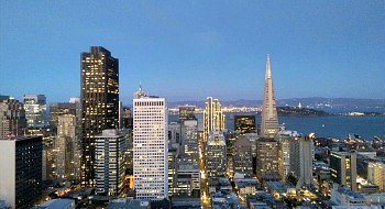 View from the Fairmont Hotel, San Francisco