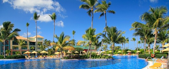Caribbean Resort in February