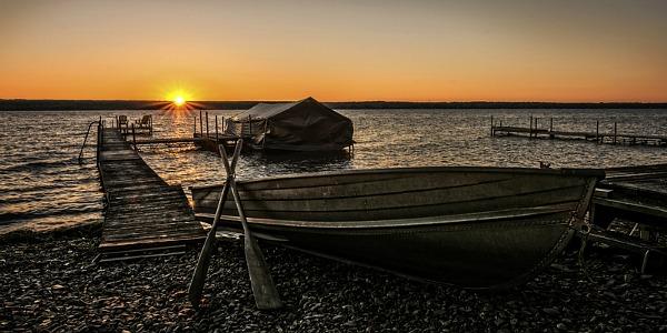 Lake Cayuga Sunset, Finger Lakes
