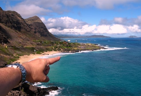 Romantic Hawaiian Coastline