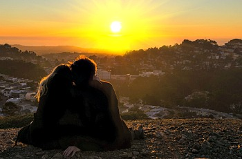 USA Honeymoon Sunset