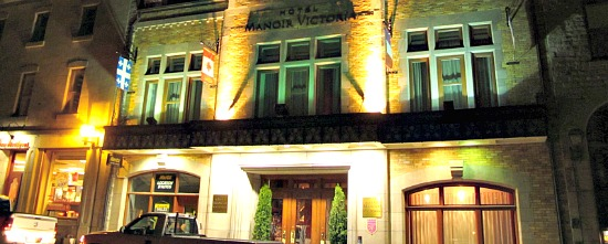 Hotel Manoir Victoria, Quebec City