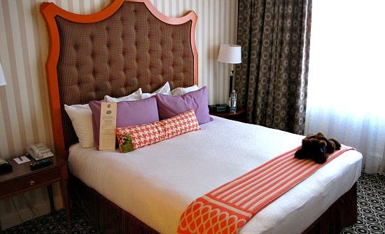 Hotel Monaco Portland OR - Bedroom