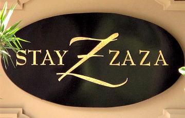 Hotel ZaZa Sign