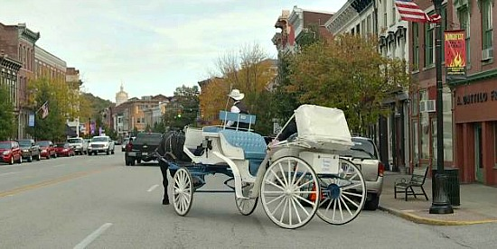 Romantic Carriage Ride in Madison, IN