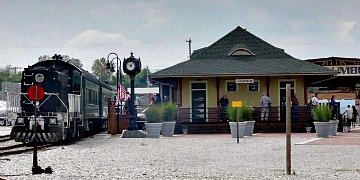 Spirit of Jasper Romantic Indiana Train Trip