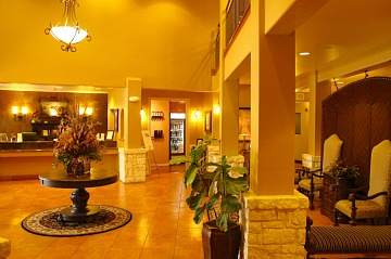 Hotel Lobby - Inn at Barons Creek