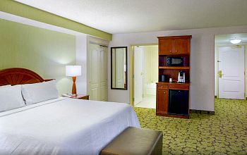 Spa Tub Suite, Hilton Garden Inn, Hartford CT