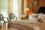 Romantic Room at the Landmark Inn, Cooperstown, NY
