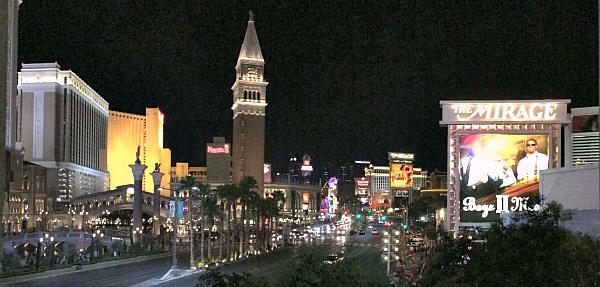 Las Vegas, Nevada - The Strip at Night