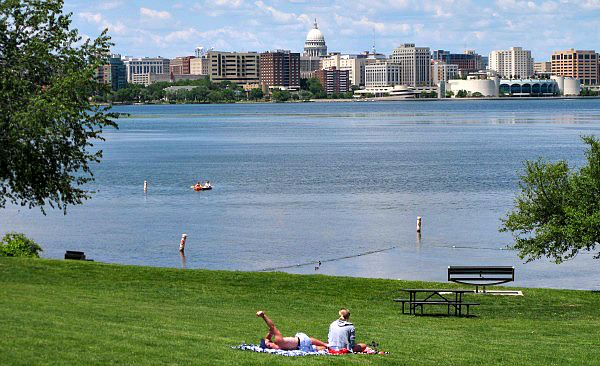 Olin Park & Lake Monona, Madison, WI
