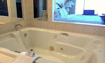 Niagara Falls Hotel Whirlpool Tub
