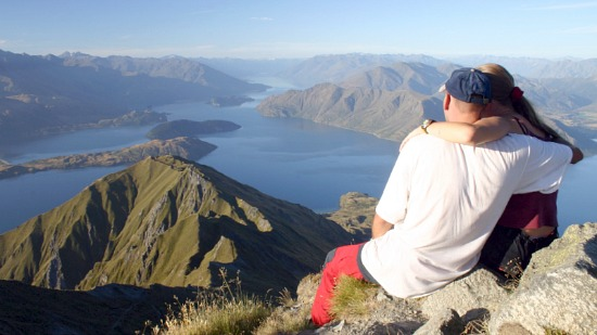 New Zealand Honeymoon Couple in the South Island
