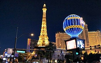Eiffel Tower at Paris Las Vegas