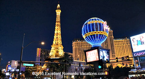 Paris Las Vegas at Night