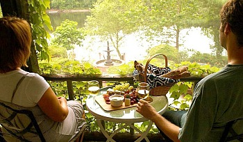 Romantic Picnic By the Delaware River