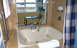 In-Room Whirlpool Tub - Portofino Hotel, Redondo Beach, CA