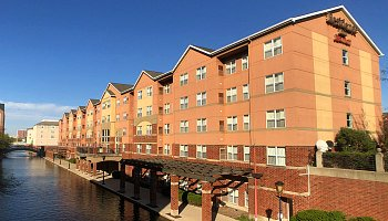 Romantic Indianapolis Hotel Downtown by the Canal