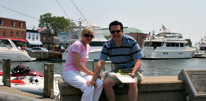 Romantic Getaway in Maryland - Annapolis Harbor