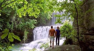 Romantic Waterfalls in the Arkansas Ozarks