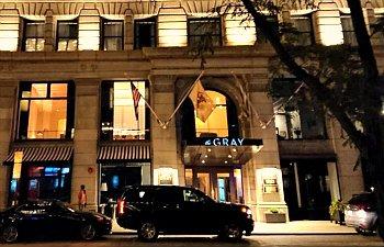 Romantic Kimpton Gray Hotel, Chicago