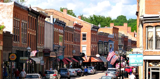 Downtown Galena, IL