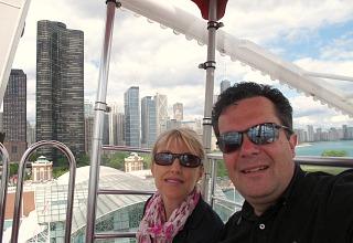 Ferris Wheel at Navy Pier, Chicago