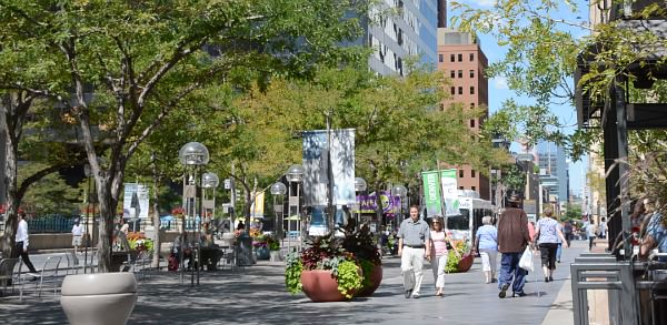 Romantic Getaway in Denver - 16th Street Mall
