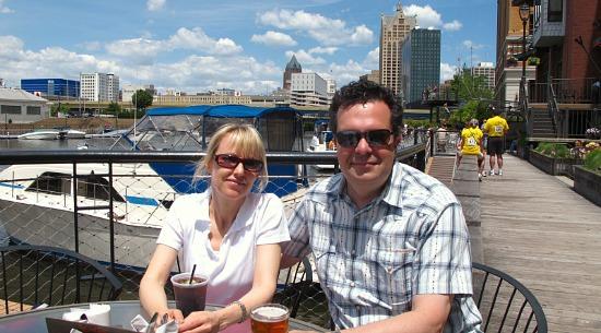Romantic Getaway in Milwaukee's Historic Third Ward Riverwalk