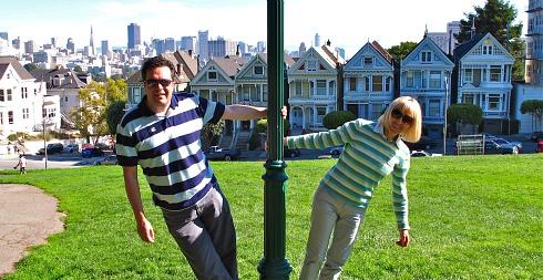 Romantic Getaway in San Francisco - Alamo Square