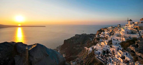 Romantic Santorini, Greek Islands