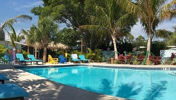 Romantic Hotel Pool Sarasota FL