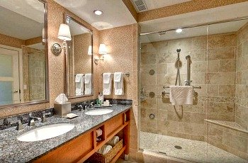Romantic Hotel Shower for Two