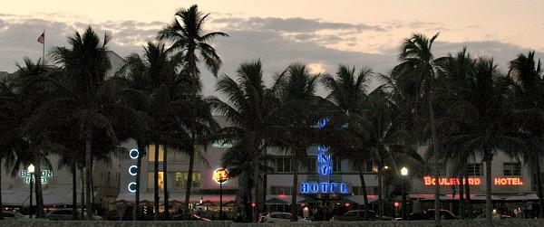 Romantic Miami Hotels in South Beach