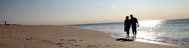Romantic Walk on the Beach, Long Island, NY