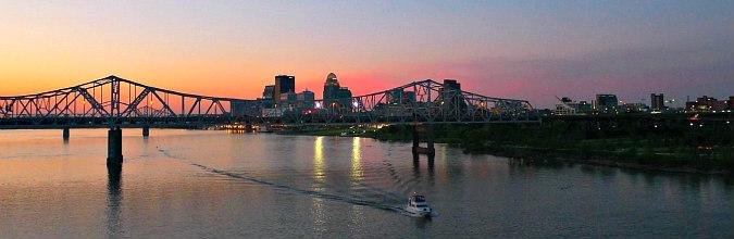 Romantic Sunset Kentucky