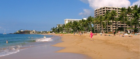 Romantic Vacation on the Beach in Maui